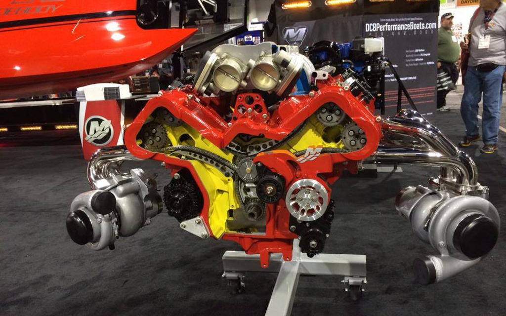 Mercury Racing Unveils Qc4v Crate Engines At Sema The Car Guide