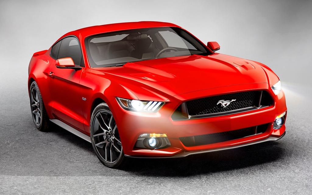2015 ford mustang official unveiling the car guide. Black Bedroom Furniture Sets. Home Design Ideas