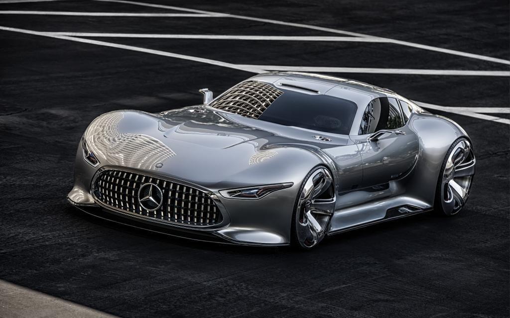 2015 - [Alpine] Vision GT Concept 144554_Mercedes-Benz_AMG_Vision_Gran_Turismo_produit_en_cinq_exemplaires