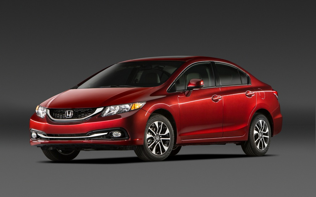 news honda civic is most popular vehicle in canada 16. Black Bedroom Furniture Sets. Home Design Ideas
