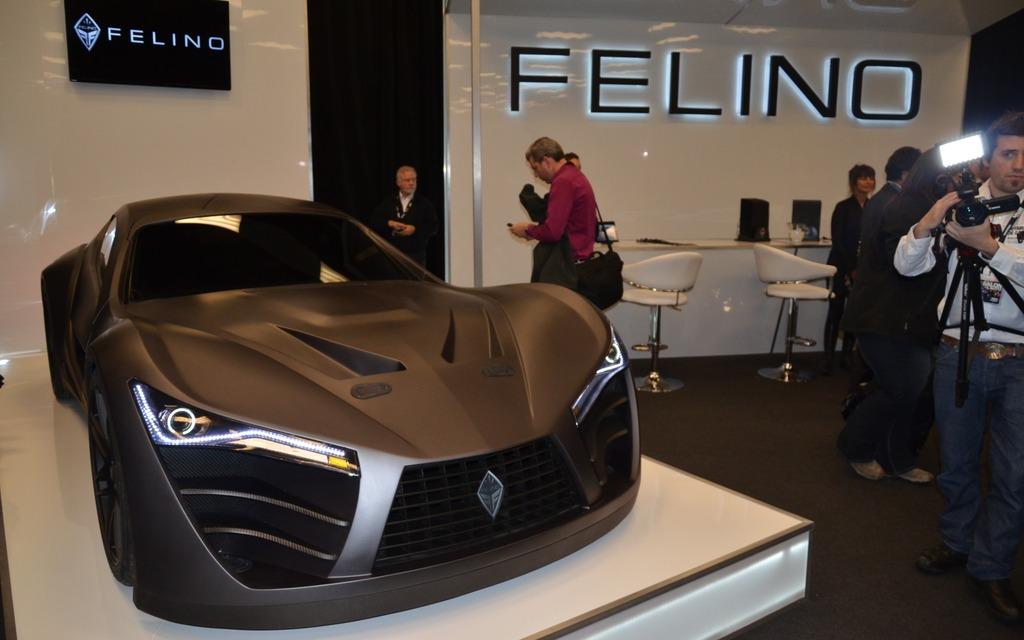 La Felino Cb7 Vedette Du Salon De L 39 Auto De Montr Al