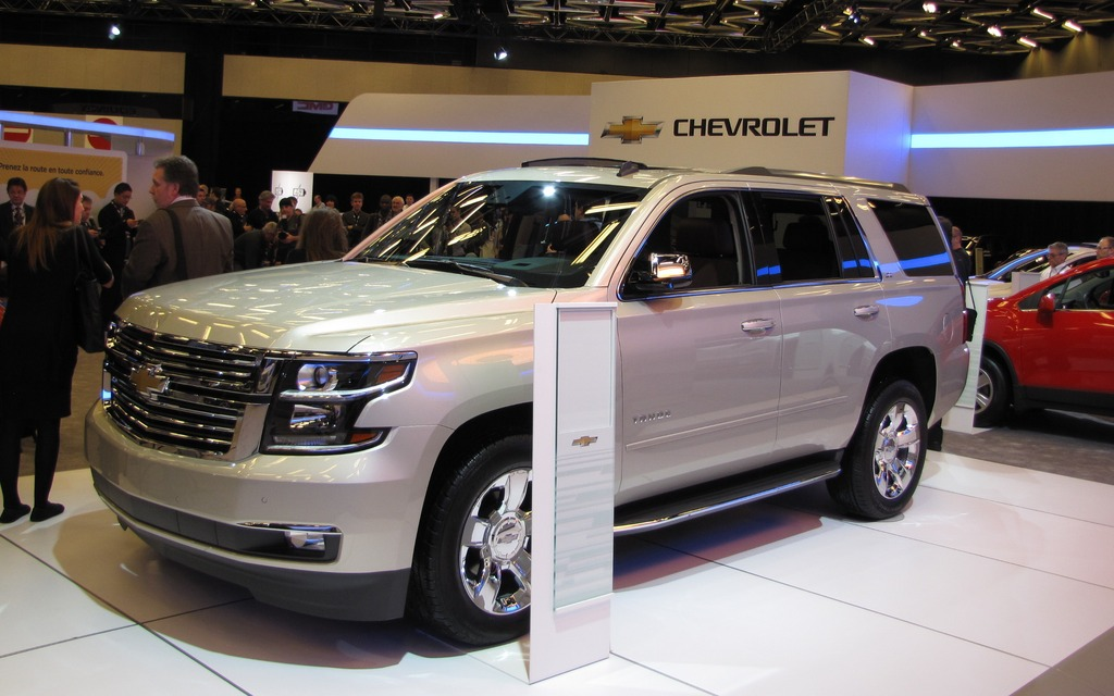 Chevrolet tahoe 2015 galerie photo 7 38 le guide de l for Salon de auto 2015