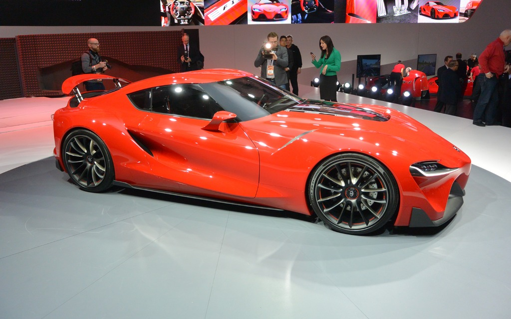 Actualit 233 Toyota Ft 1 Concept Bmw Attendra Toyota