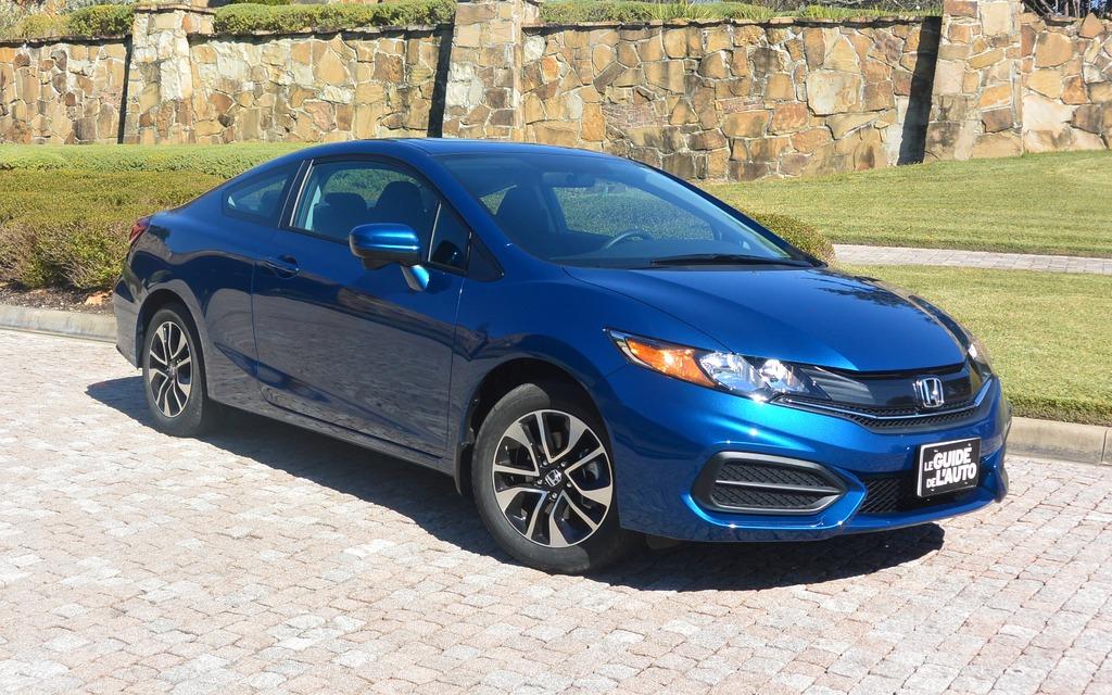 2014 Honda Civic Coupe Little Details That Go A Long Way