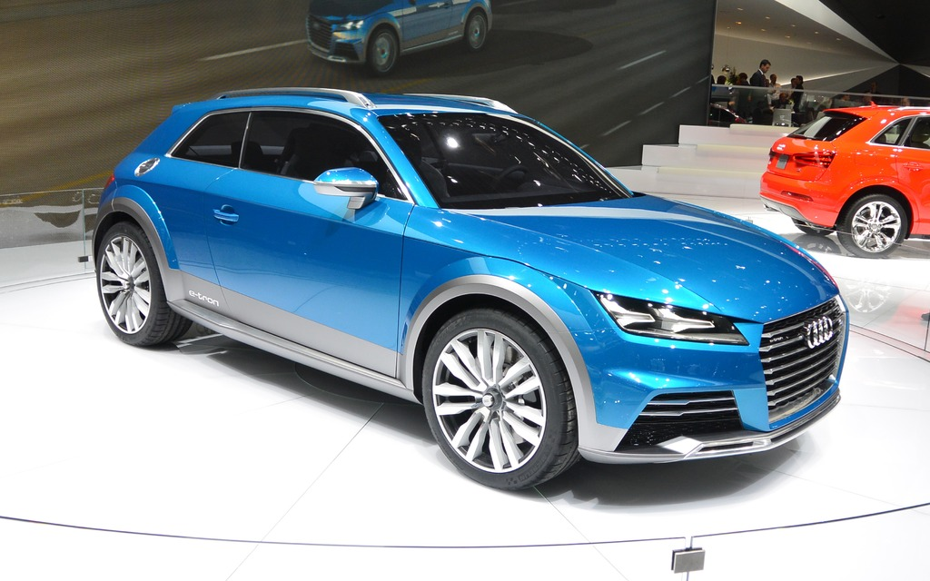 audi tt allroad in the works 2014 audi concept the car guide. Black Bedroom Furniture Sets. Home Design Ideas