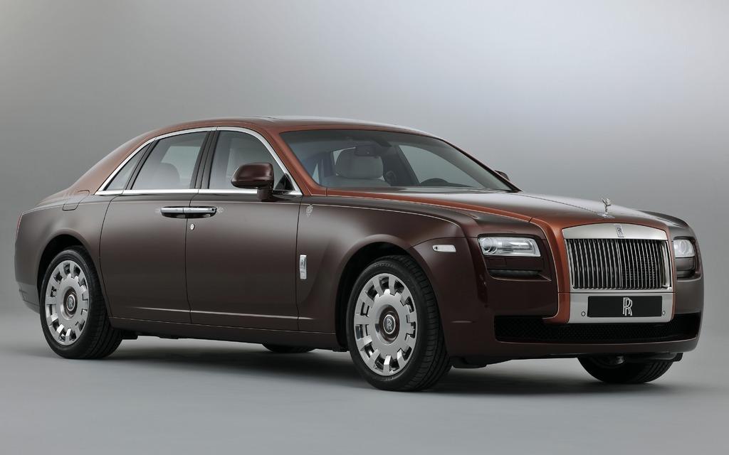 Rolls Royce Ghost 1001 Nights Edition