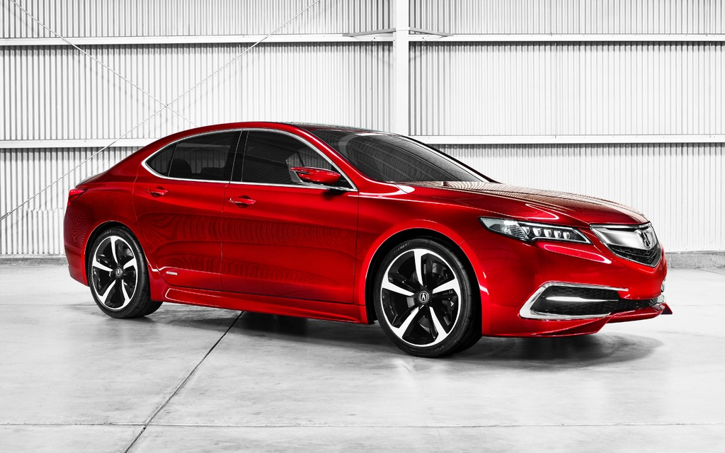 2015 acura tlx likely to replace outgoing tsx and tl models the car guide. Black Bedroom Furniture Sets. Home Design Ideas