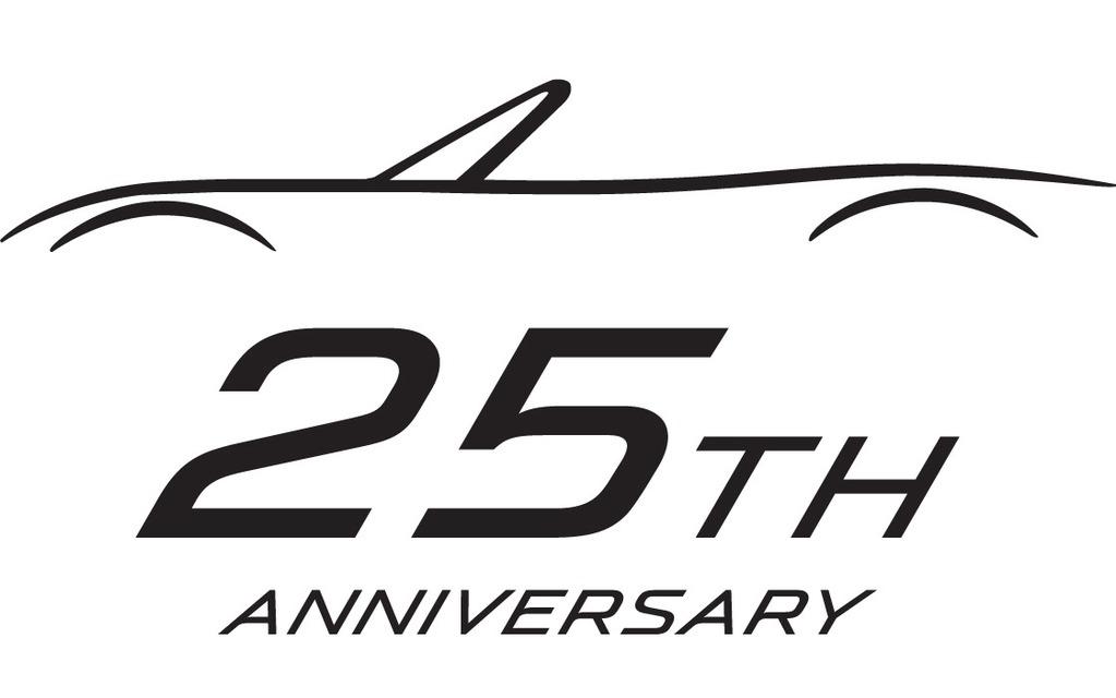 mazda mx5 25th anniversary logo picture gallery photo