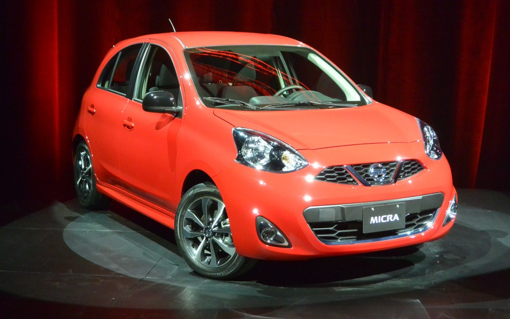 the 2015 nissan micra is the least expensive car on the market the car guide. Black Bedroom Furniture Sets. Home Design Ideas