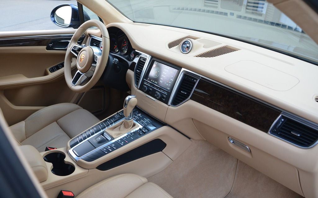 The Macan S Interior Is Not The Biggest In The Category At