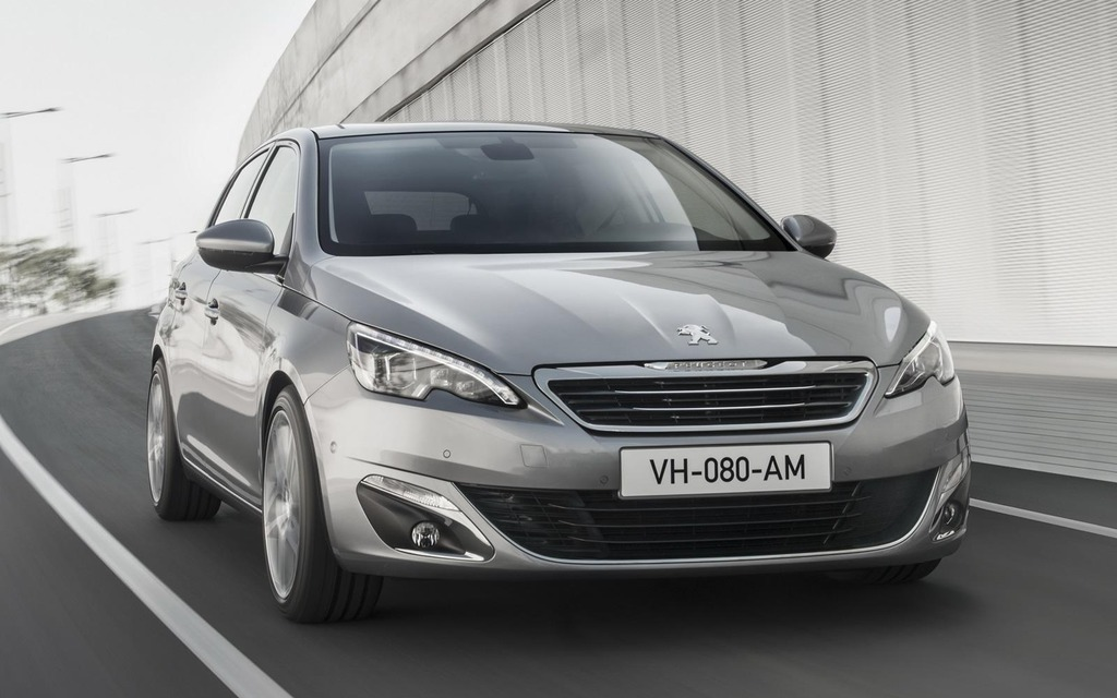 peugeot 308 named car of the year in europe the car guide. Black Bedroom Furniture Sets. Home Design Ideas