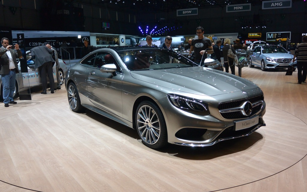 Salon de gen ve 2014 mes cinq coups de coeur mercedes for Adresse salon de l auto geneve