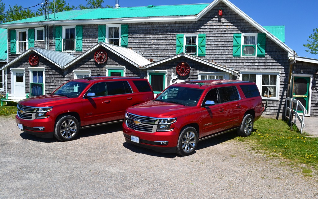 Chevy tahoe suburban : Chevrolet Tahoe Vs. Suburban