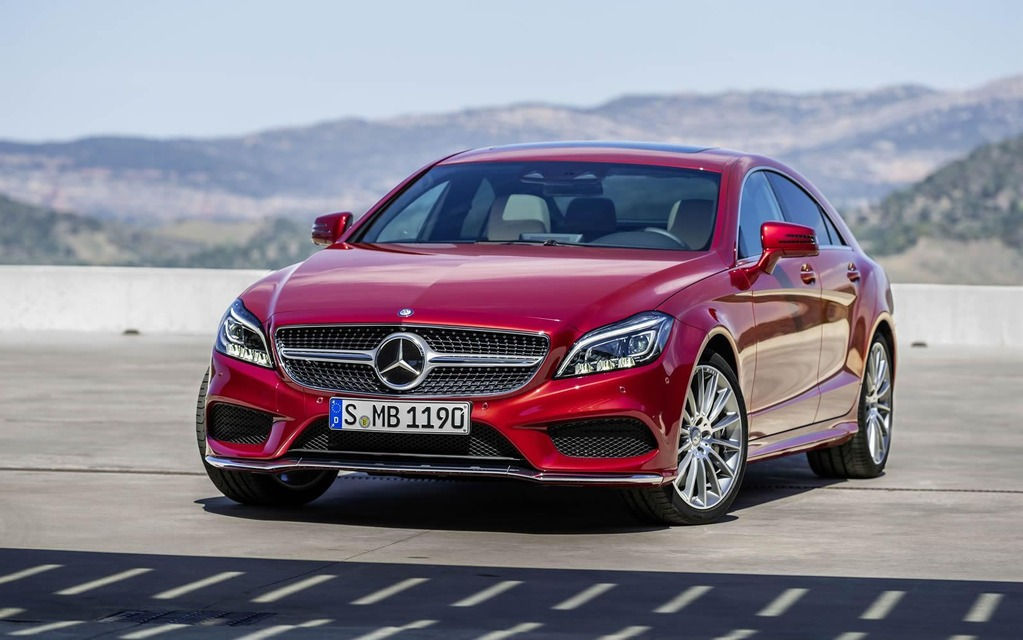 New models 2015 mercedes benz cls unveiled 2015 for New models of mercedes benz
