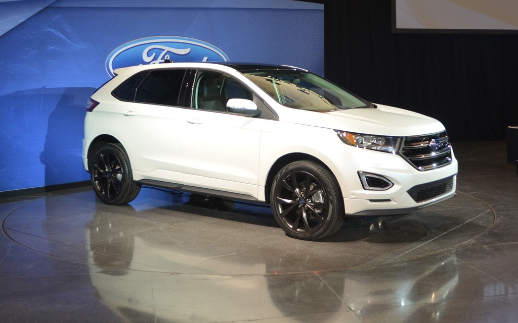 2015 ford edge from canada to china review the car guide. Black Bedroom Furniture Sets. Home Design Ideas