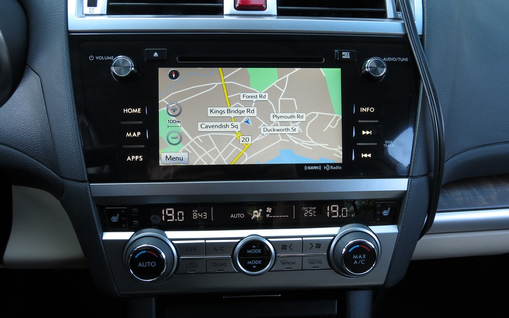 Subaru Outback Navigation 2017 Ototrends Net