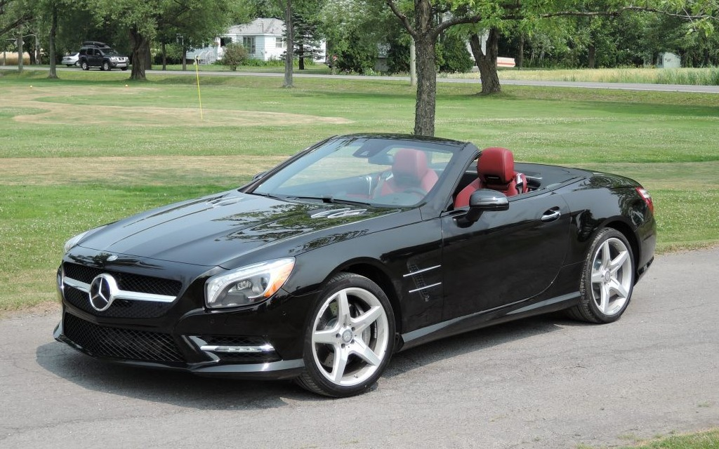 Mercedes Benz Sl550 2014 Prestige Performance Et Confort