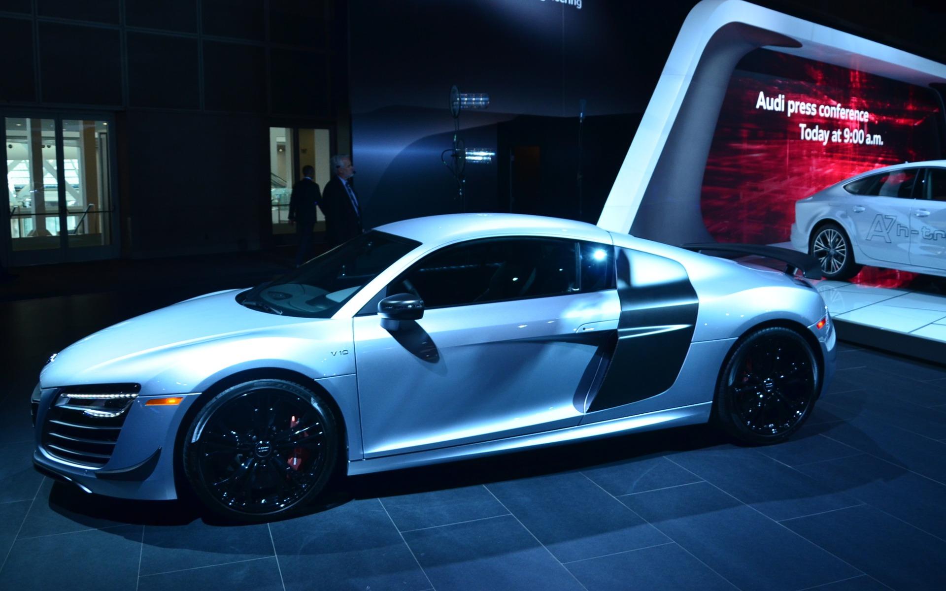 L ultime Audi R8 au Salon de Los Angeles Audi R8 2014 Le Guide de l Auto