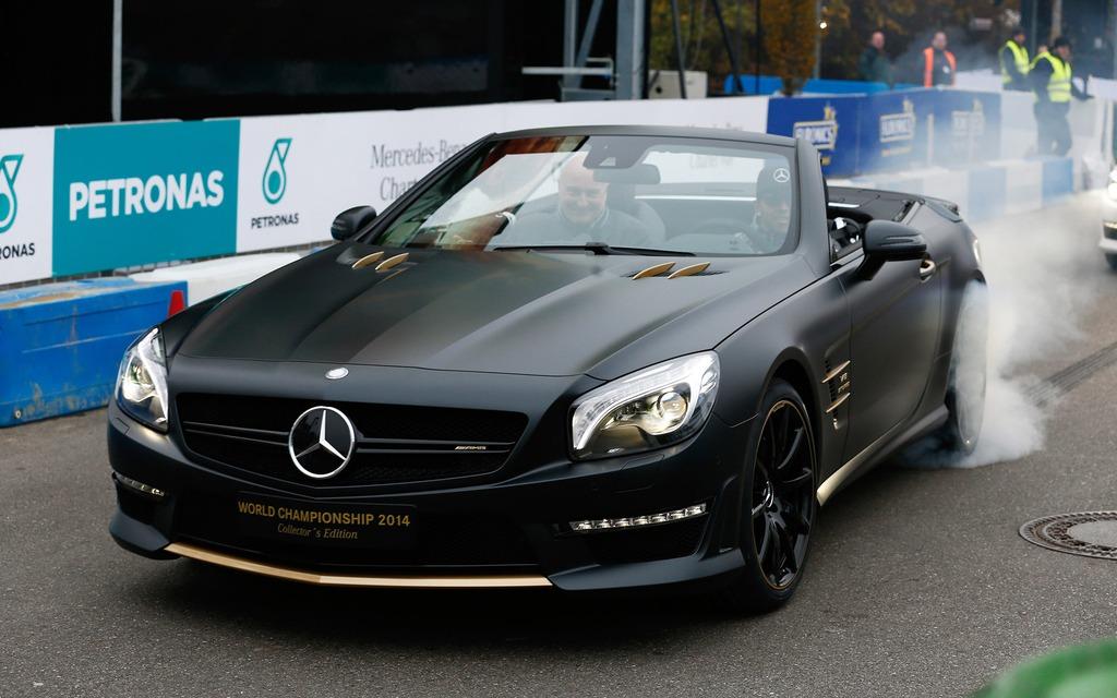 Mercedes-AMG SL63 World Championship 2014 Collector's Edition