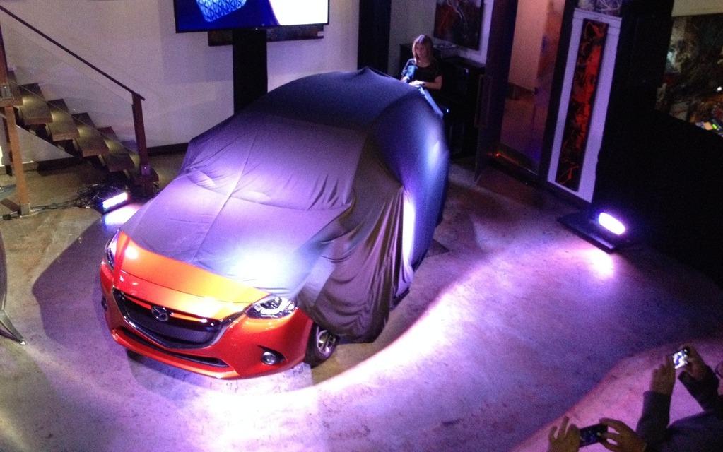 La Mazda2 se dévoile!