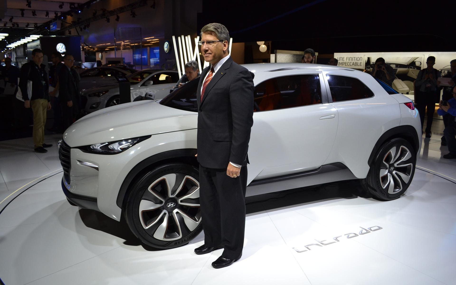 Hyundai Intrado Concept: Après Genève, Montréal! - Hyundai Concept ...