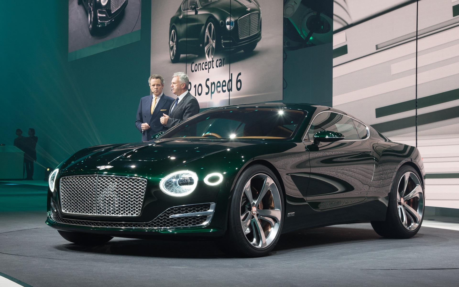 bentley exp 10 speed 6 concept vive le futur guide auto. Black Bedroom Furniture Sets. Home Design Ideas