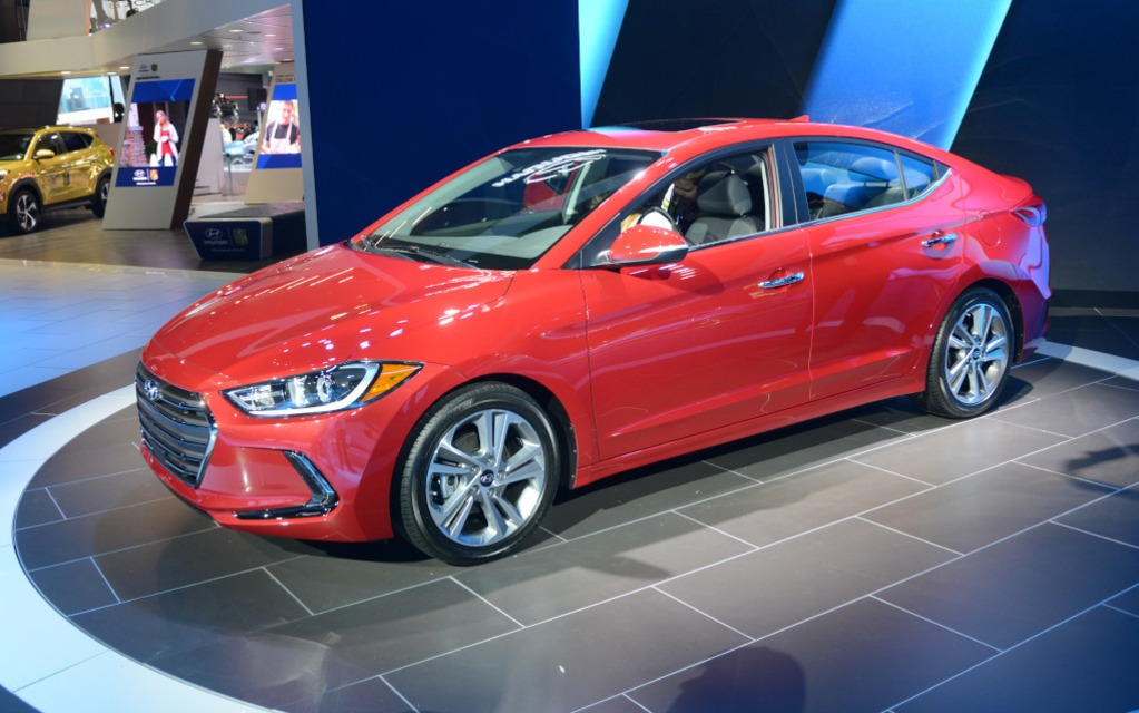 #10: Hyundai Elantra 2017