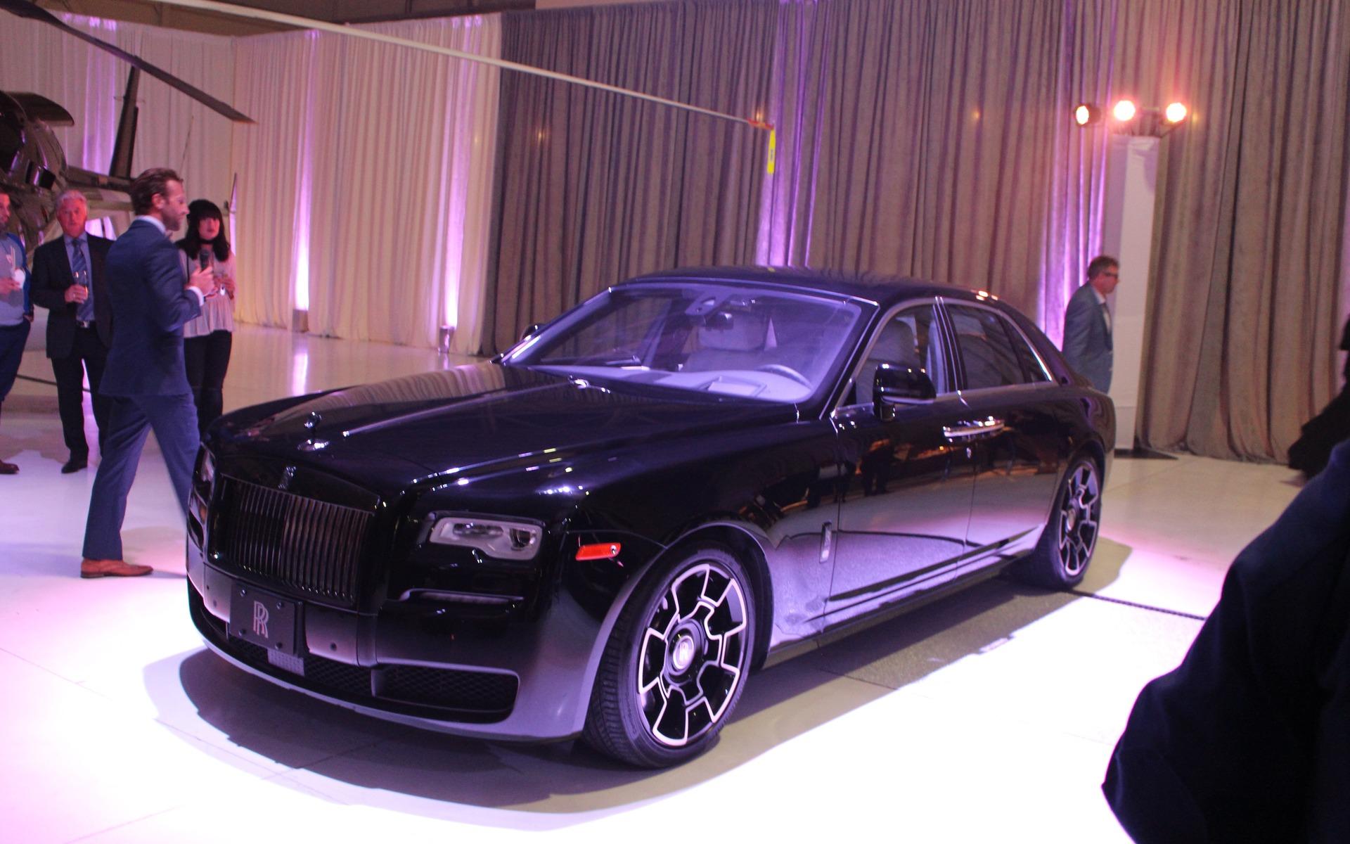 Rolls-Royce Ghost Black Badge 2017