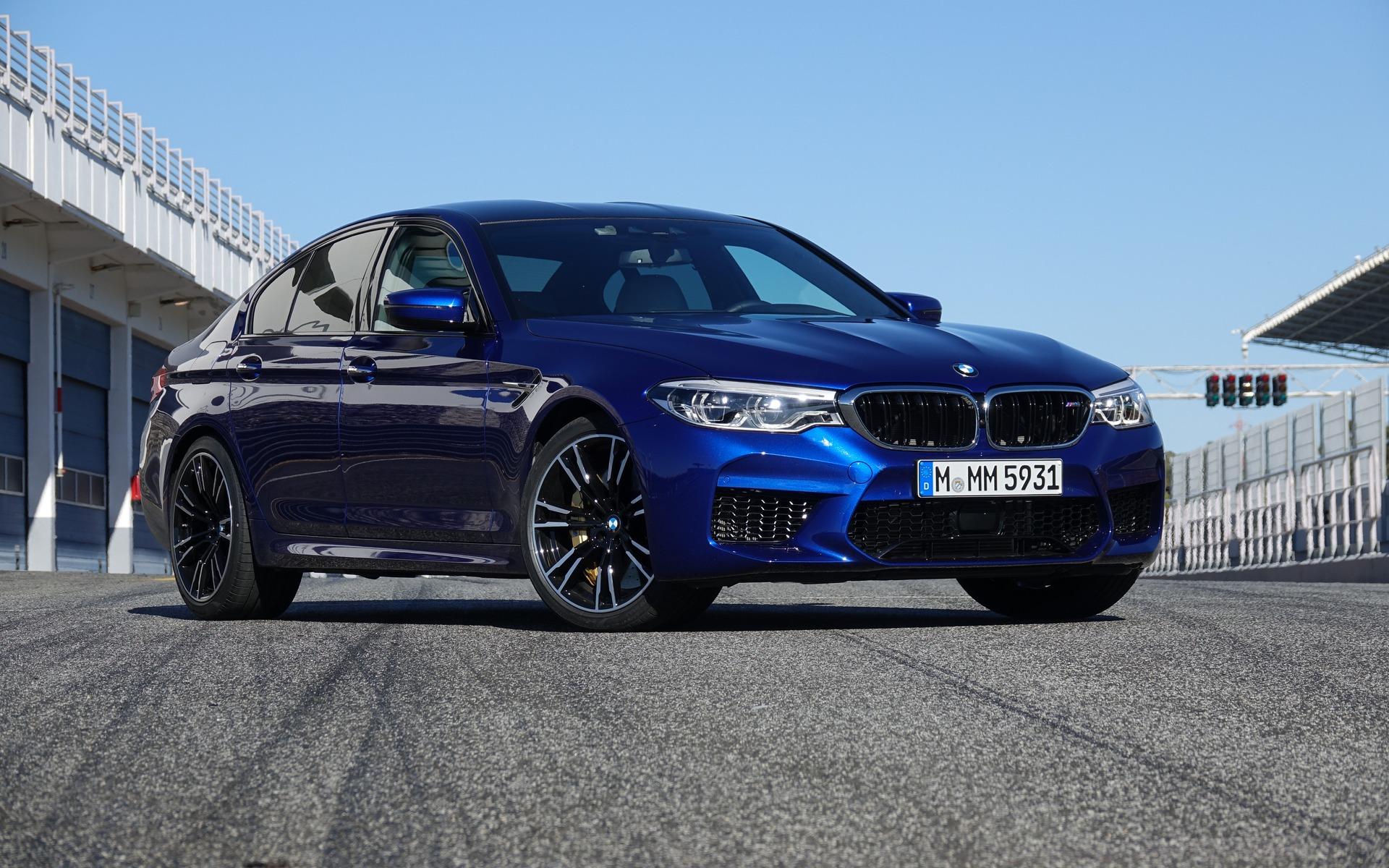 <p>BMW M5&nbsp;2018</p>