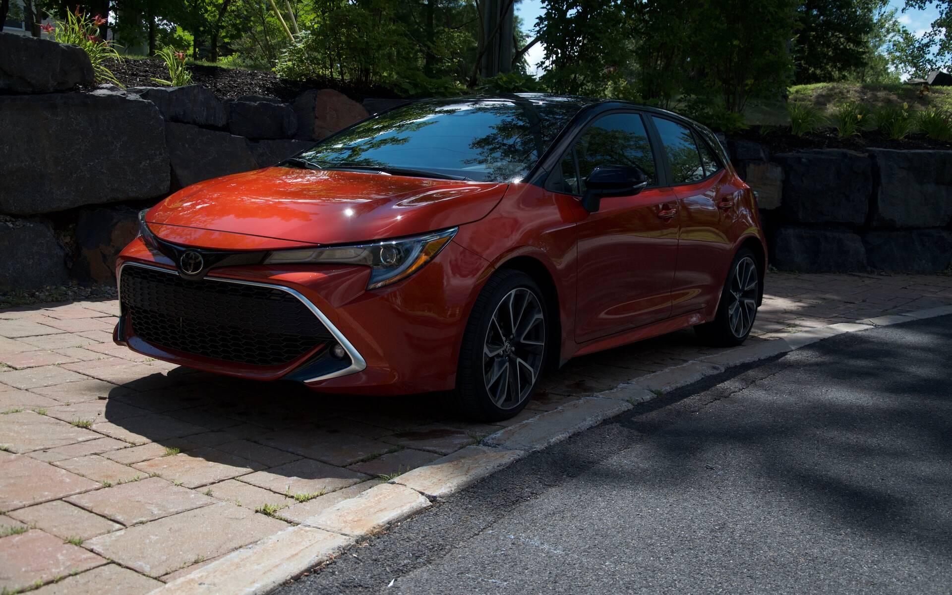 <p>Toyota Corolla Hatchback XSE 2020</p>