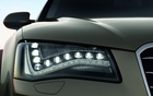 Phare LED sur la Audi A8