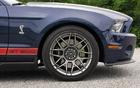Les freins à disque métallique de la Shelby GT500 sont signés Brembo
