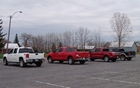 GMC Sierra, Toyota Tundra, Ford F-150 et Ram 1500 2011