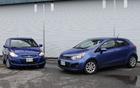 Hyundai Accent 2012 et Kia Rio 2012
