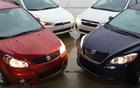Suzuki SX-4, Mitsubishi Lancer AWD, Subaru Impreza et Toyota Matrix, toutes des intégrales sous les 25 000$ prêtes à s'affronter!