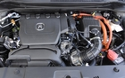 The Hybrid's gas engine is a 1.5-litre 4-cylinder
