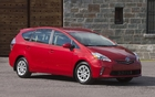 The Prius V compromises in terms of fuel consumption in favour of space and versatility