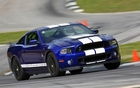 The Shelby GT500 going all out at Road Atlanta