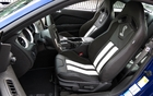 The Recaro driver's seat in the Shelby GT500 coupe
