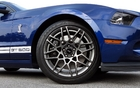 The GT500 is fitted with Goodyear Eagle F1 SuperCar G: 2 tires