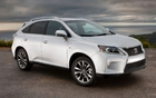 Lexus RX assemblé à l'usine de Cambridge