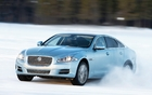 The 2013 Jaguar XF will offer optional all-wheel drive.
