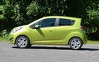 Longer than the smart Fortwo, Scion iQ and Fiat 500, the Spark is obviously roomier.