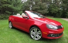 The 2012 Volkswagen Eos.