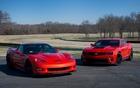 Chevrolet versus Chevrolet. Corvette ZR1 versus Camaro ZL1
