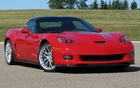 The Corvette ZR1 is recognized for its raised roof, carbon fibre spoiler and 20-inch rims.