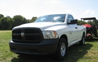 RAM 1500 ST: V8 4.7-litre and six-speed automatic. It's the entry-level version.