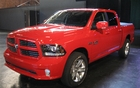 RAM 1500: Redesigned grille and headlights (photo: Sport).