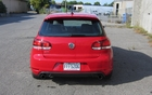 The 2012 Volkswagen Golf GTI.