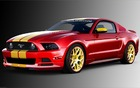 The Boy Racer 3dcarbon SEMA Mustang.